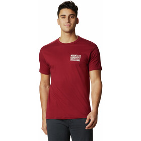 Mountain Hardwear Berkeley 93 Camiseta Manga Corta Hombre, desert red